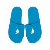 Aqua Waffle Slippers-Sailboat