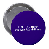 2.25 inch Round Button-March of Dimes