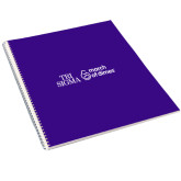 College Spiral Notebook w/Clear Coil-March of Dimes