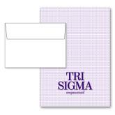Designer Folded Notecards/Envelopes 10/pkg-Empowered