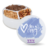 Deluxe Mix Baby Boy Tin-Greek Letters - One Color