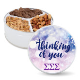 Deluxe Mix Thinking of You Tin-Greek Letters - One Color