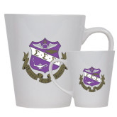 Full Color Latte Mug 12oz-Crest