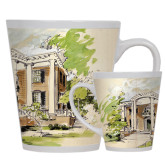 Full Color Latte Mug 12oz-Mable Lee Walton Museum