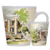 Full Color Latte Mug 12oz-Mable Lee Walton Museum