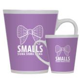 Full Color Latte Mug 12oz-Smalls Bow