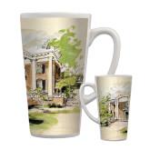 Full Color Latte Mug 17oz-Mable Lee Walton Museum