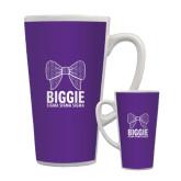 Full Color Latte Mug 17oz-Biggie Bow