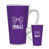 Full Color Latte Mug 17oz-Smalls Bow