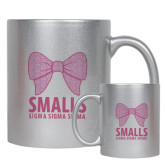 Full Color Silver Metallic Mug 11oz-Smalls Bow