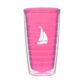 16oz Pink Tritan Double Wall Tumbler-Sailboat