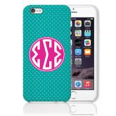 iPhone 6 Plus Phone Case-Seaglass Dot Pattern