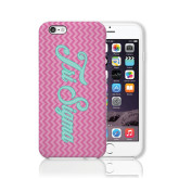 iPhone 6 Phone Case-Pink Chevron Pattern
