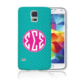 Galaxy S5 Phone Case-Seaglass Dot Pattern