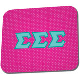 Full Color Mousepad-Pink Dot Pattern