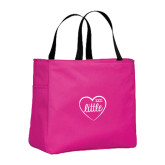 Tropical Pink Essential Tote-Little in Heart