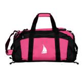 Tropical Pink Gym Bag-Sailboat