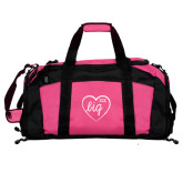 Tropical Pink Gym Bag-Big in Heart