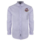 Long Sleeve Easy Care Lavender Shirt-