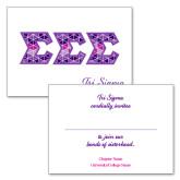 Personalized Folded Bid Card 7 x 5 w/ Envelope-