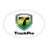 Medium Decal-Truck Pro, 8 in Tall