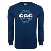 Navy Long Sleeve T Shirt-CCC Parts Company