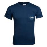 Navy T Shirt w/Pocket-CCC Parts Company