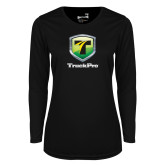Ladies Syntrel Performance Black Longsleeve Shirt-Truck Pro