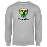 Grey Fleece Crew-Truck Pro