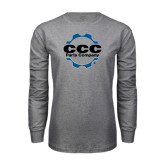 Grey Long Sleeve T Shirt-CCC Parts Company