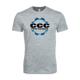 Next Level SoftStyle Heather Grey T Shirt-CCC Parts Company