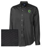 Cutter & Buck Black Nailshead Long Sleeve Shirt-Truck Pro