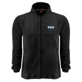 Fleece Full Zip Black Jacket-CCC Parts Company