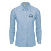 Ladies Light Blue Oxford Shirt-CCC Parts Company