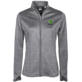 Ladies Callaway Stretch Performance Heather Grey Jacket-Truck Pro