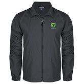 Full Zip Charcoal Wind Jacket-Truck Pro