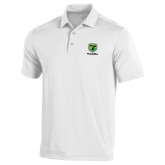 Under Armour White Performance Polo-Truck Pro