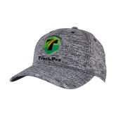 PosiCharge Black/White Electric Heather Snapback Hat-Truck Pro