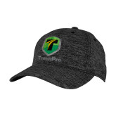PosiCharge Charcoal/Black Electric Heather Snapback Hat-Truck Pro