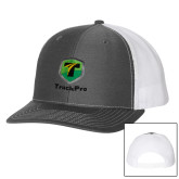 Richardson Charcoal/White Trucker Hat-Truck Pro