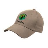 Khaki Heavyweight Twill Pro Style Hat-Truck Pro