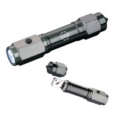 Heavy Duty Black Flashlight/Emergency Tool-CCC Parts Company Engraved