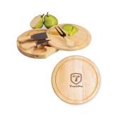 7.5 Inch Brie Circular Cutting Board Set-Truck Pro Engraved