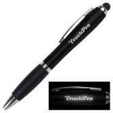 LIGHT UP LOGO Black Stylus Pen-Truck Pro Wordmark Engraved