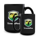 Full Color Black Mug 15oz-Truck Pro