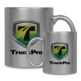Full Color Silver Metallic Mug 11oz-Truck Pro