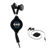 Black Retractable Ear Buds-CCC Parts Company