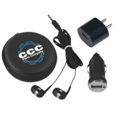 3 in 1 Black Audio Travel Kit-CCC Parts Company