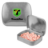 Silver Rectangular Peppermint Tin-Truck Pro