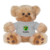 Plush Big Paw 8 1/2 inch Brown Bear w/Grey Shirt-Truck Pro